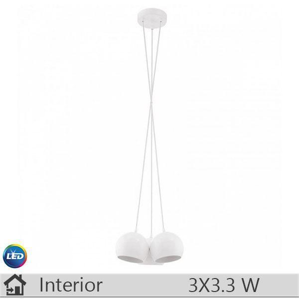 Pendul LED iluminat decorativ interior Eglo, gama Petto, model 94248