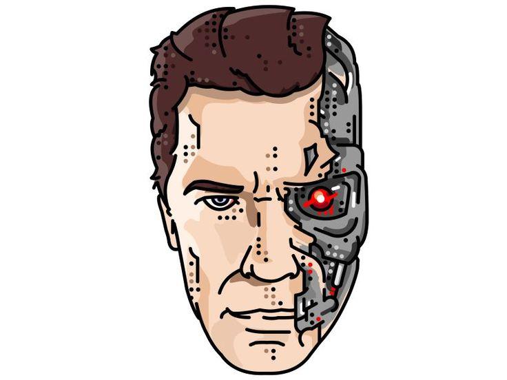 Terminator!! Arnold Schwarzenegger!! by Aleksandar Savić