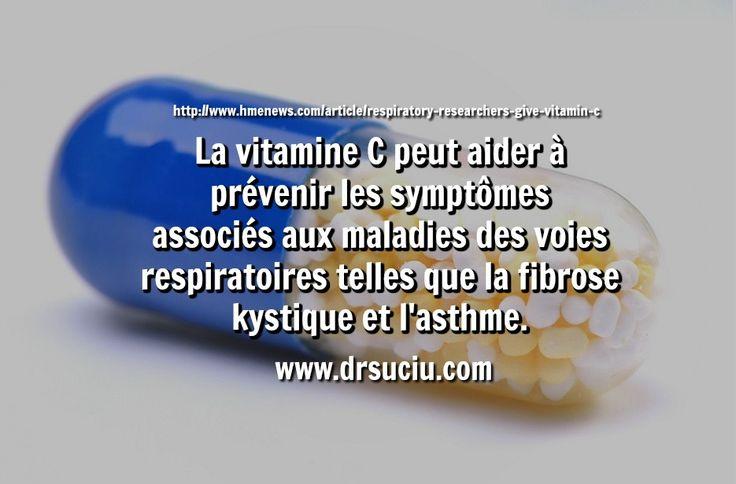 Photo drsuciu La vitamine C, l'asthme et la fibrose kystique