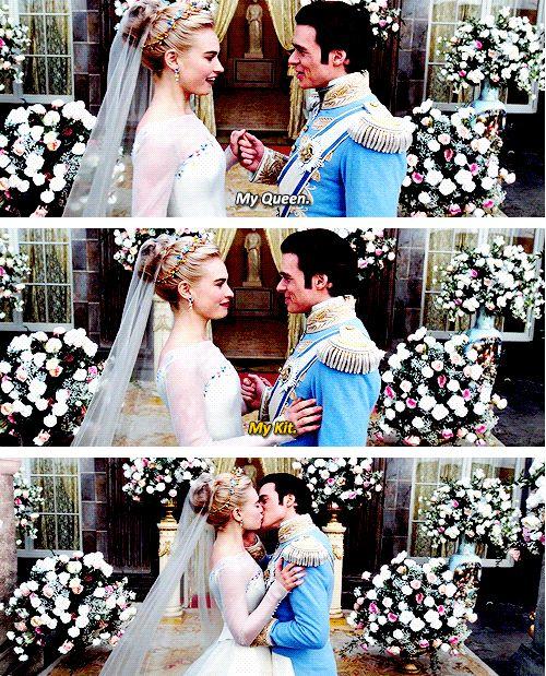 "Lily James & Richard Madden - ""Cinderella"" (2015)"