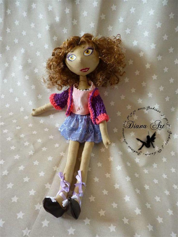 monster high, Diana Art, doll