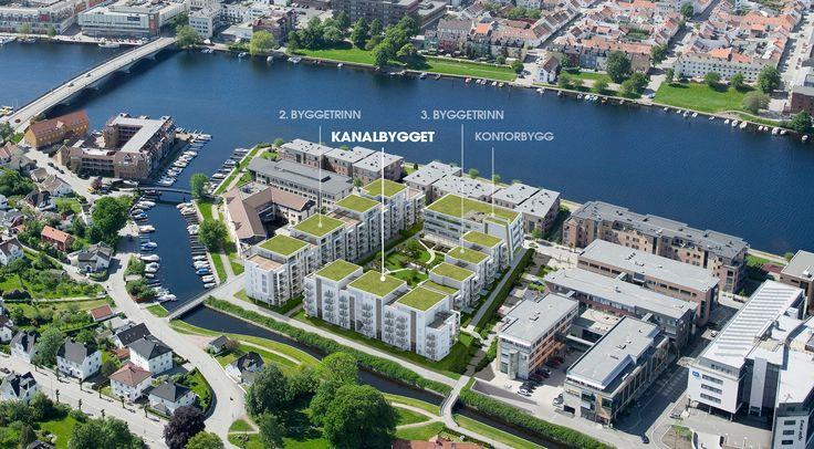 Kjoeita Secret Garden. Boligprosjekt Kristiansand. Arkitekter Ark-Net AS