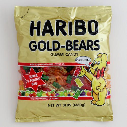 Haribo Gold Bears, 3 lb. Bag
