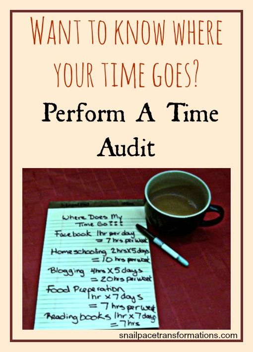 Want to know where your time goes? Perform a time audit! Who wants to do this with me -- like a challenge?? #mmmtimeaudit