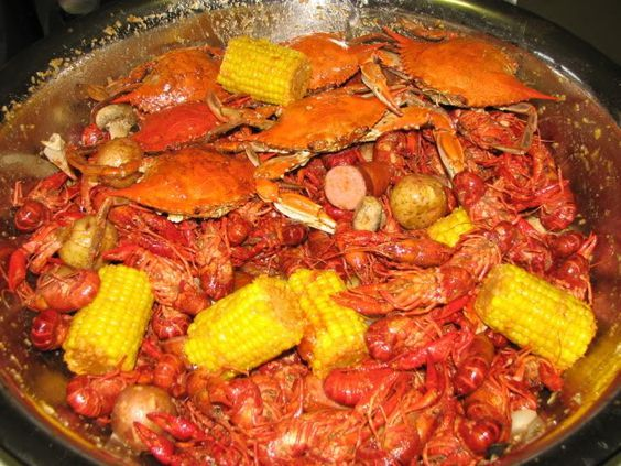 Crawfish and Blue Crab Boil Recipe