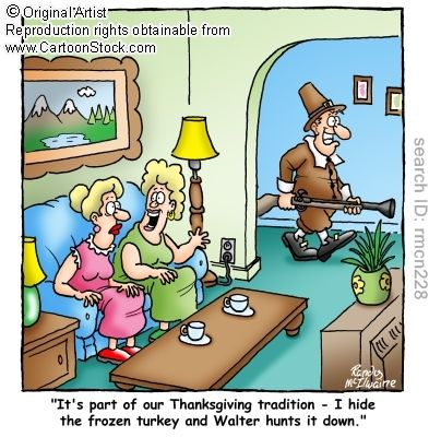 thanksgiving humor | on the edge of something: A Little Thanksgiving Humor