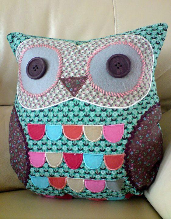 Diy Owl Pillow Pinterest: 121 best Owl Pillows images on Pinterest   Cute owl  Owls and    ,