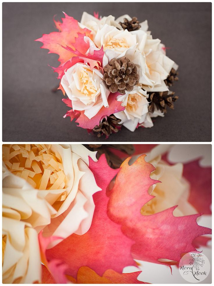 Ramo de novia para boda de otoño.   www.noranook.com