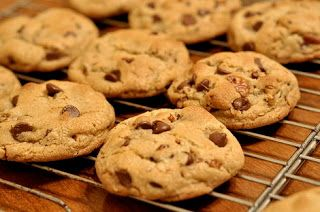 Delicious gluten free chocolate chip cookie using Pamela's Baking Mix