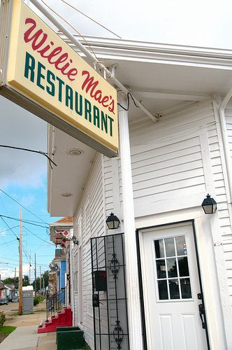 Willie Mae's Scotch House, 7th Ward, New Orleans, Louisiana.  The food here was everything it was made out to be and it was amazingly easy to find.  The staff were very friendly. If you're in NOLA and you don't go here you should be ashamed.