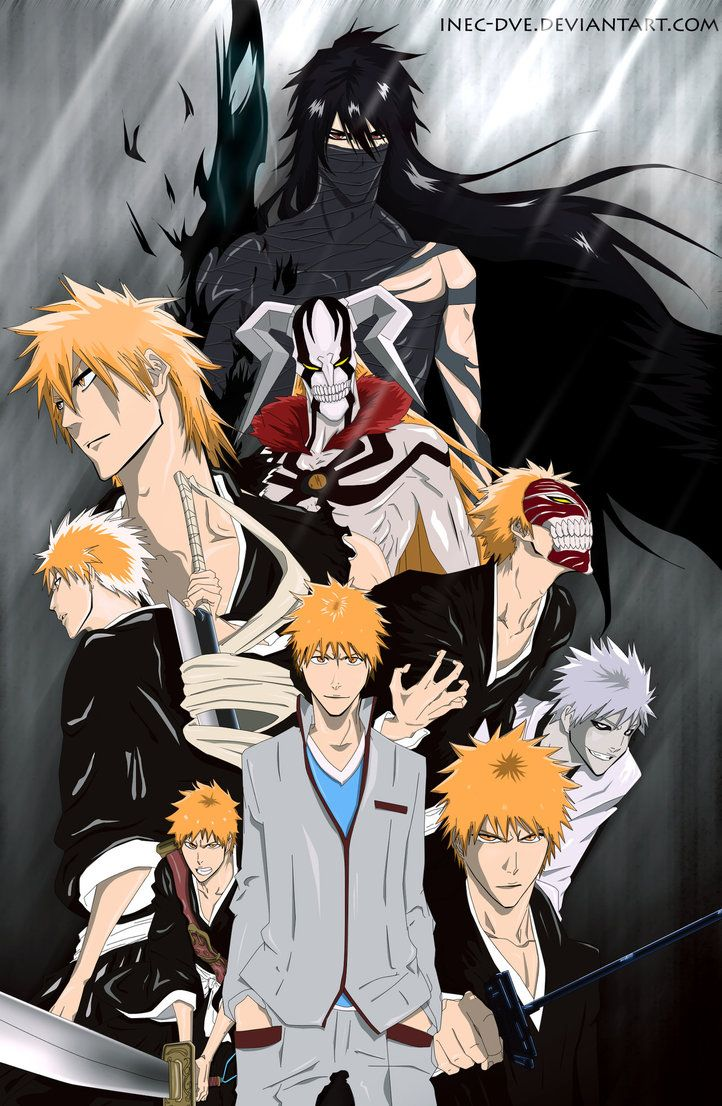 Ichigo Evolution 1 _-_ Bleach 001 - 423 by InEc-Dve
