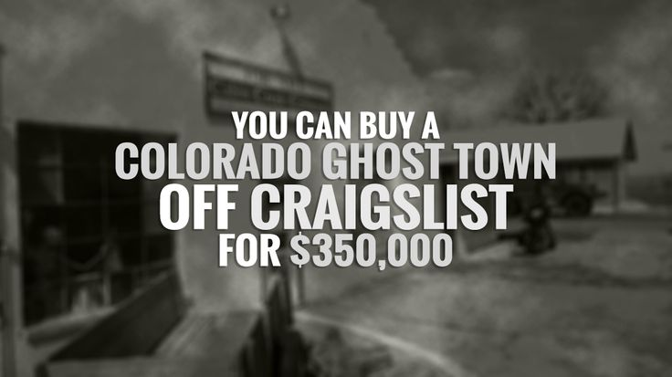 The $350,000 price tag includes nearly five acres plus an old gas station, 8-room motel, road-side restaurant cafe, 8-space RV park, two houses and private shooting range. ========== Read more: http://bit.ly/29ifgWe Source: Denver7 Craigslist ad: https://denver.craigslist.org/off/5618640929.html #RealEstate #Denver #GhostTown