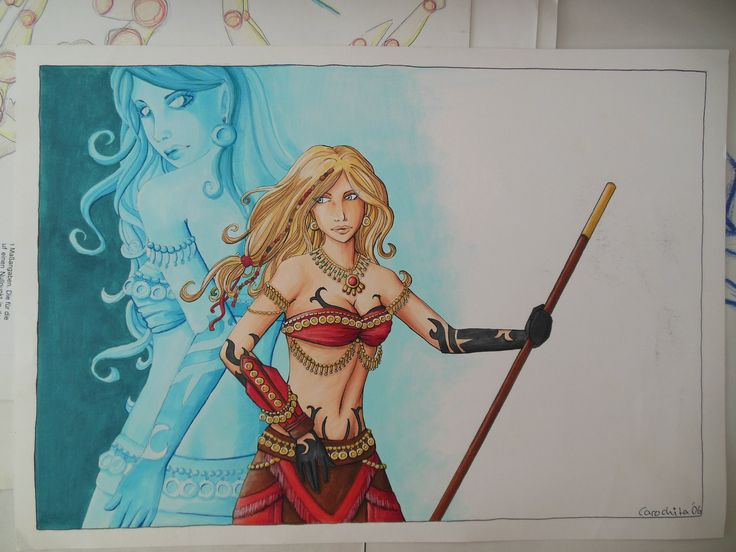 Some artwork i did back in my Guildwars days...