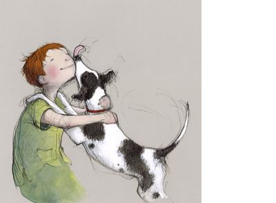 'Harry and Hopper p. 21 and cover' signed limited edition print by Freya Blackwood, from her picture book 'Harry and Hopper'. Available from Books Illustrated. http://www.booksillustrated.com.au/bi_prints_indiv.php?id=32&image_id=329