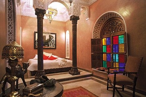 Spa report la sultana hotel and spa marakkesh morocco - Decoracion arabe interiores ...