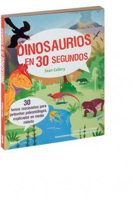 30 temas fascinantes para pequeños paleontólogos, explicados en medio minuto. Este libro te llevará por un viaje en el tiempo, hasta hace unos 225 millones de años, cuando los dinosaurios dominaban la Tierra. La «Era de los dinosaurios» duró 160 millones de años, un período de tiempo unas 800 veces más largo que el que llevan existiendo los seres humanos. Búscalo en http://absys.asturias.es/cgi-abnet_Bast/abnetop?ACC=DOSEARCH&xsqf01=dinosaurios+segundos+sean+callery