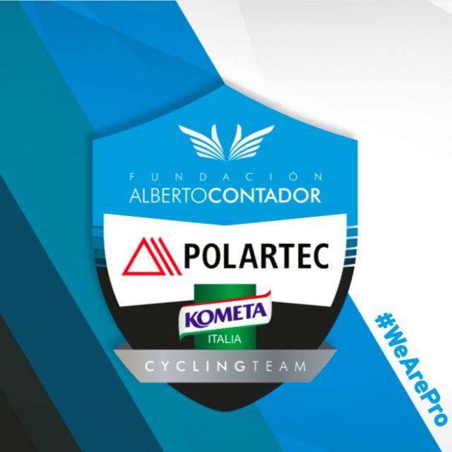 La Fundación Alberto Contador presentará el próximo lunes 5 de febrero sus equipos ciclistas de la temporada 2018, liderados por primera vez en su historia por un equipo profesional, el Polartec- Kometa Continental.   #AlbertoContador #Pinto #Polartec-Kometa
