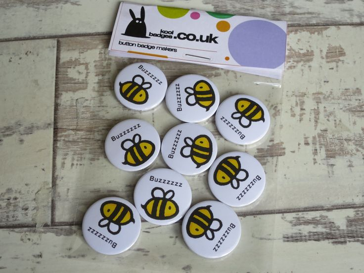 🐝  Super cute bumble bee badges www.koolbadges.co… #buzzzzzzzz #savethebees… – Cute Badges