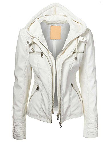 Lock and Love Women's Removable Hoodie Motorcyle Jacket XS WHITE Lock and Love http://www.amazon.com/dp/B00QHMLYMS/ref=cm_sw_r_pi_dp_3xmMub1EAZ00K