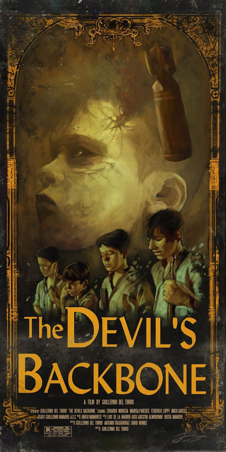 the devil's backbone by juan hugo martinez