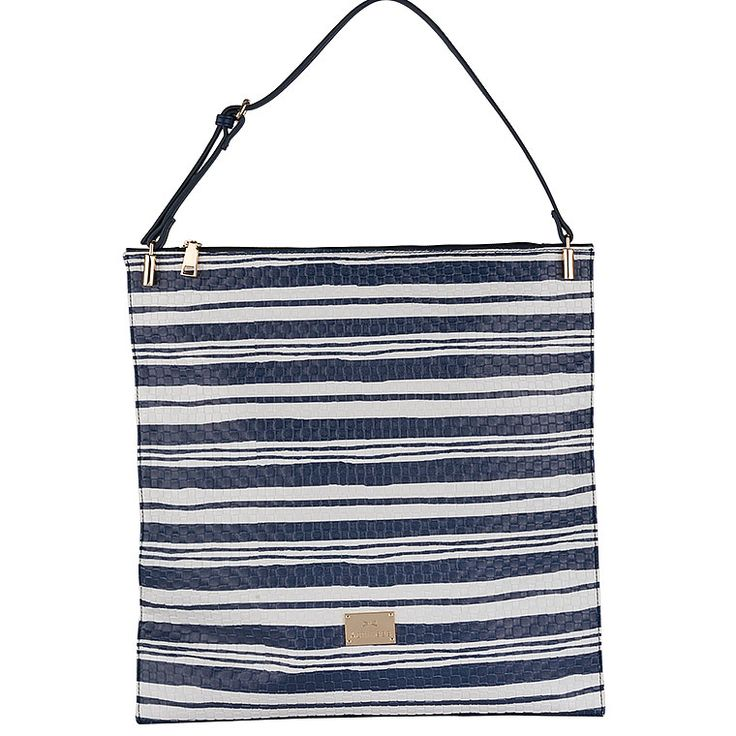 If we could give a name to this bag this would be ''the unexpected stylish''. It seems too structured but when you opt it you'll see how elegant it is!   #achilleas_accessories #stripes #ootd #style #look #bag #shopping #summer #look #outfit #cool