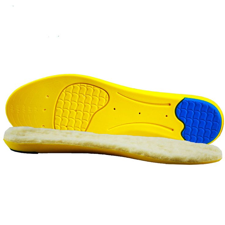2017 New Shoe Insoles Warm Shoe Pad Thickened Absorbent Foot Pad Plantar Fasciitis Men Women Insoles For Shoes Accessories