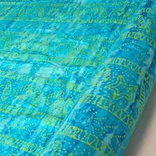 tenture bleu turquoise - pour rideau dressing