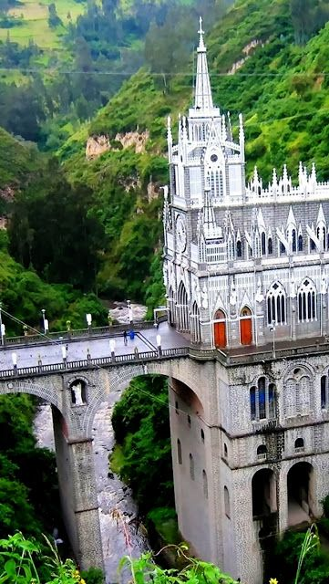 Las Lajas Sanctuary ~ Colombia