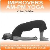Improvers AM-PM Yoga contains two easy to follow yoga classes, the AM session is a yoga vinyasa to help wake up both body and mind in preparation for the day ahead.