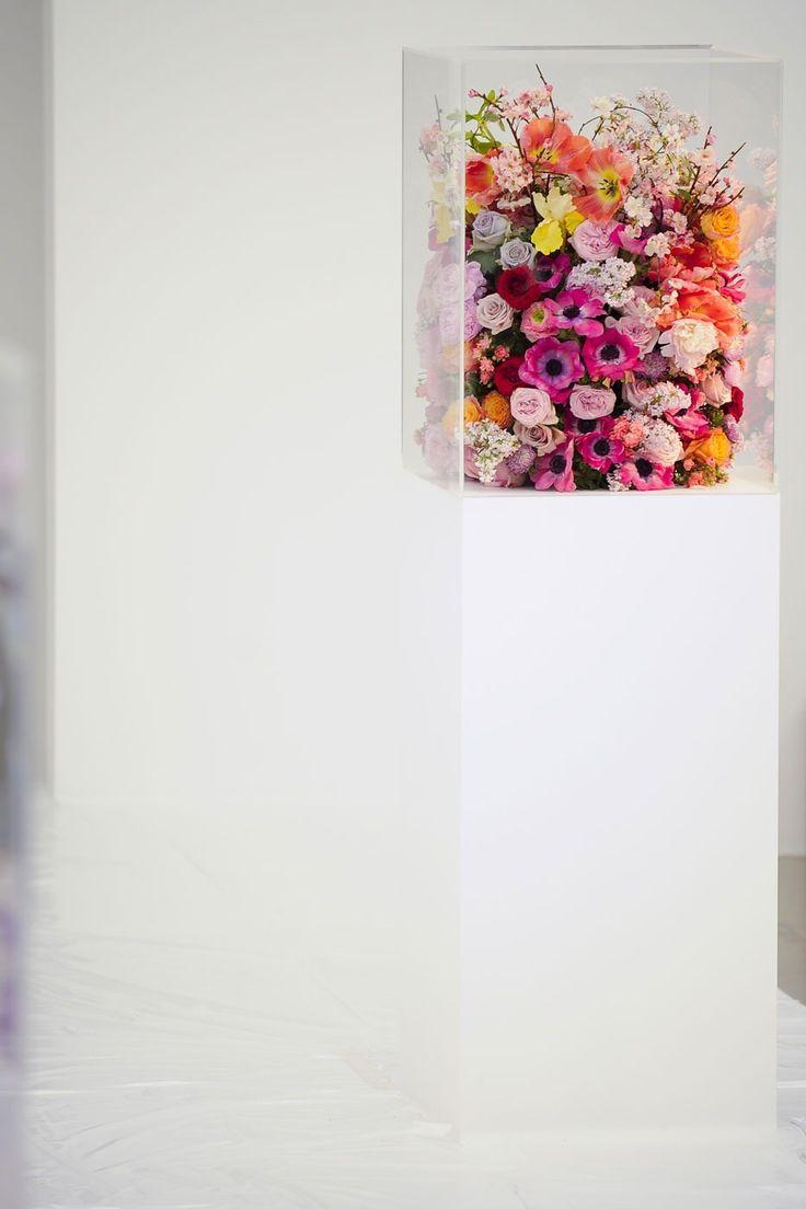 Flowers in a Plinth. Jil Sanders, Fall 2012