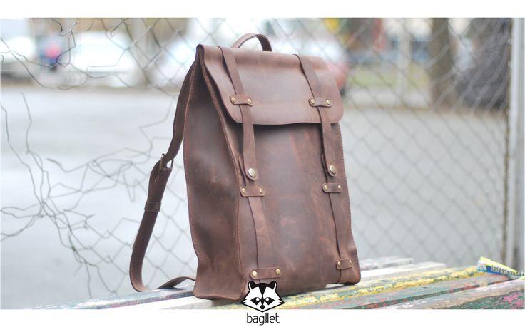 Кожаный портфель от Bagllet