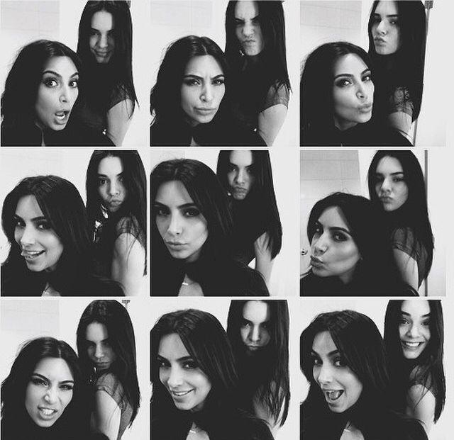Kim and kylie Jenner kim kardashian favorite celebrities celebrities siblings kuwtk