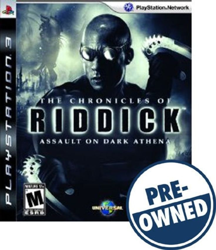 The Chronicles of Riddick: Assault on Dark Athena — PRE-Owned - PlayStation 3