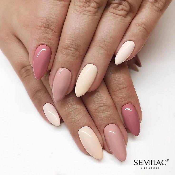 38 best images about Semilac - Autumn Nails on Pinterest