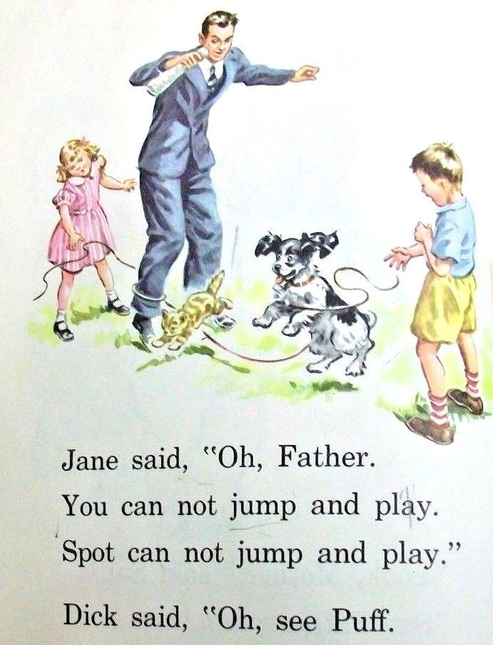 Dick and Jane: Illustrations of an American Education