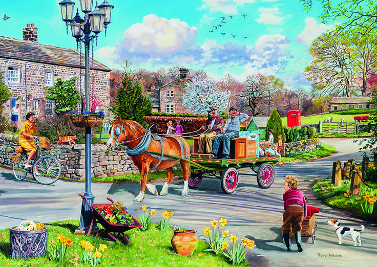 Rag & Bone 3 Puzzle #jigsaw #puzzle #Christmas #gifts #xmas #grandparents #children #hobby #fun #family #gibsons #set