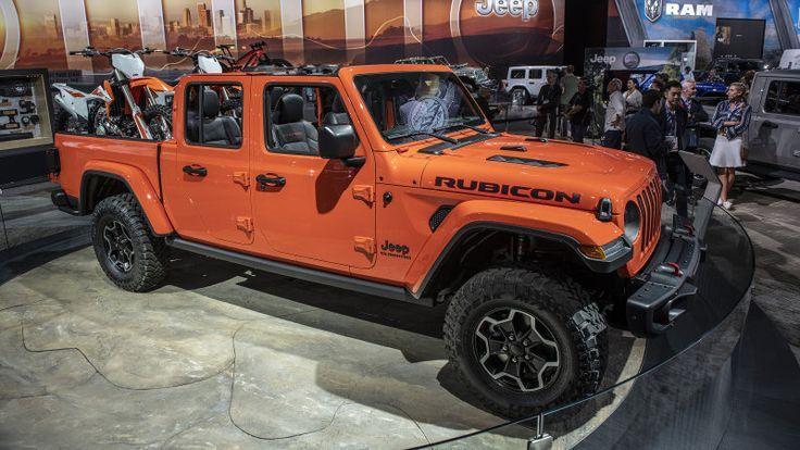2020 Jeep Gladiator Pick Up Truck Voller Spezifikationen Und Fotos