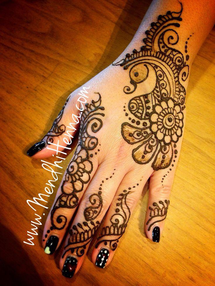 Indian Henna Tattoo Designs: 95 Best Henna Images On Pinterest