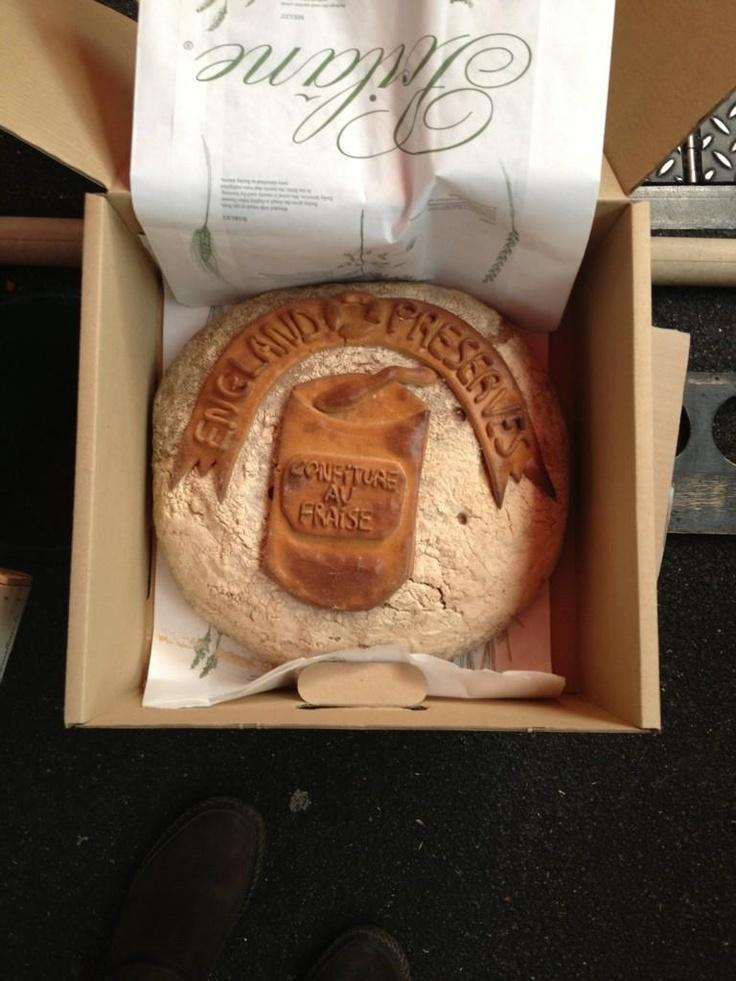 Poilane bread dedicated to @Sky Cracknell ... Marvellous!