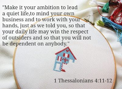 1 Thessalonians 4:11-12...  Enjoying a summer filled with lots of Family Love, crafts and Sunshine <3