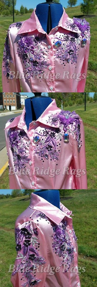 Rodeo and Roping Equipment 114226: Girl S Beaded Rodeo Queen Shirt -> BUY IT NOW ONLY: $185 on eBay!