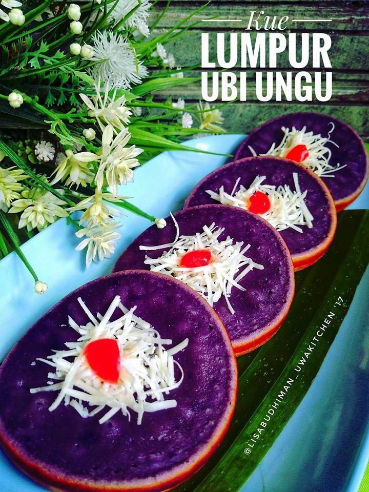 Kue Lumpur Ubi Ungu By Lisa Budhiman Langsungenak Com Resep Kue Camilan Kue Ubi
