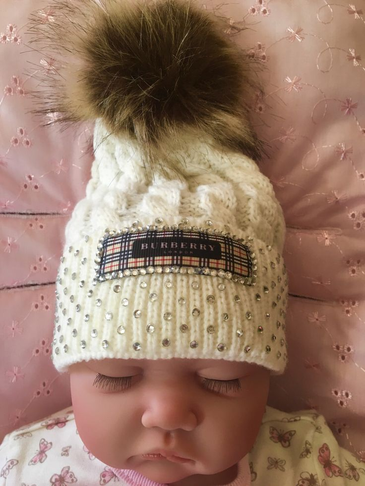 A personal favourite from my Etsy shop https://www.etsy.com/uk/listing/489212773/baby-pom-hat-0-24months