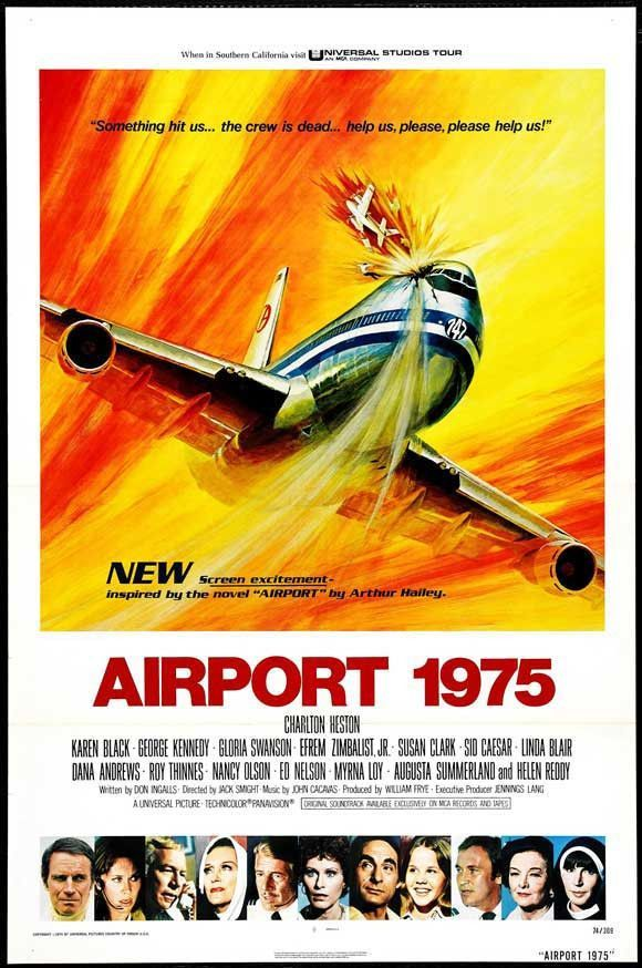 Airport 1975 27x40 Movie Poster (1974)