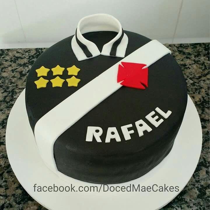 Soccer team cake Vasco bolo