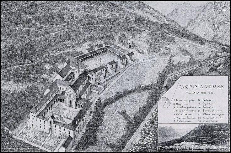 La Certosa di Vedana Belluno Dolomiti Veneto Italia