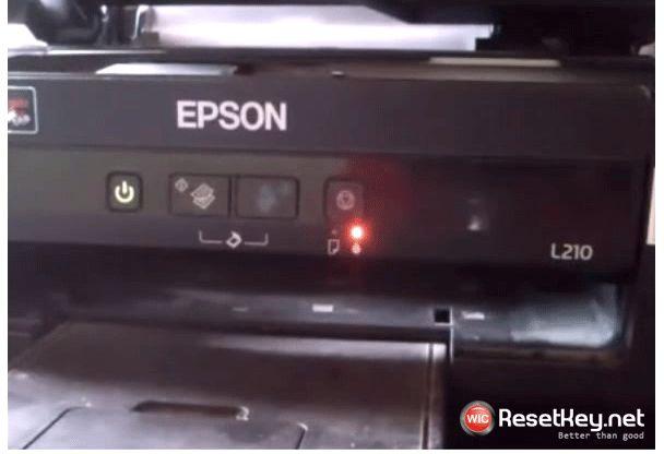 Easy to fix Epson printer's red light blinking error