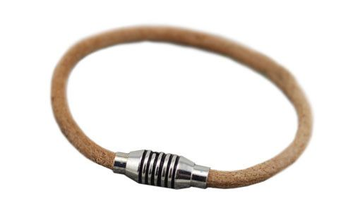 The Garth Men's Tan Leather Bracelet  #leather #bracelet #accessories #menswear  Check out this: http://dappervigilante.com/