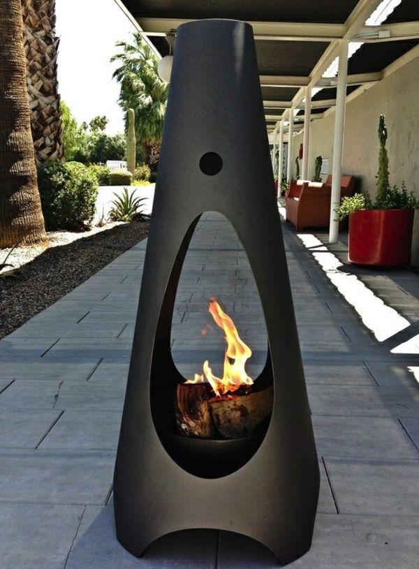 Gaskamin Fur Mehr Raumgemutlichkeit Und Umweltfreundliches Leben Beton Feuerstellen Feuerstelle Garten Im Freien