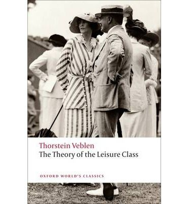 The Theory of the Leisure Class Veblen sets out 'to discuss the place and value of the leisure class as an economic factor in modern life'. In so doing he exposed, with brilliant ruthlessness, the habits of production and waste that link invidious business tactics and barbaric social behaviour...with an impartial gaze he examines the human cost paid when social institutions exploit the consumption of unessential goods for the sake of personal profit.